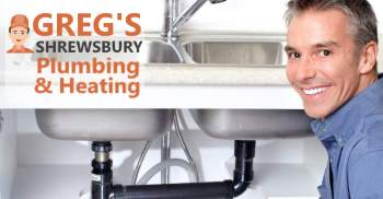 Image which shows a Gregs Shrewsbury plumber at work