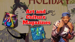 "Text shows article title: ""Art and culture magazines""."