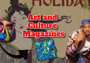 """Text shows article title: """"Art and culture magazines""""."""